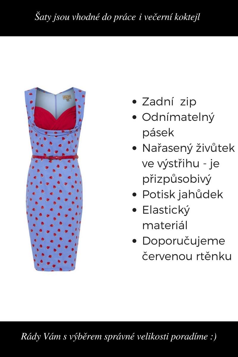 20953021d0a3 ... modré Puzdrové šaty Vanessa