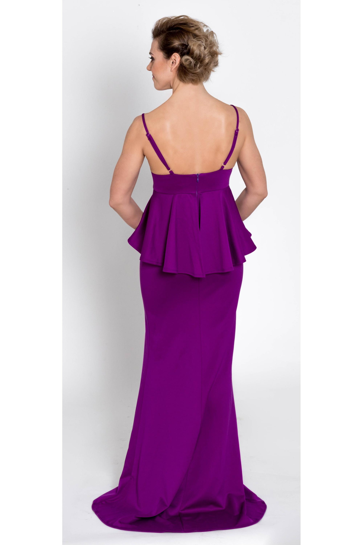 224b76403367 ... fialové Spoločenské šaty Violka Fialka