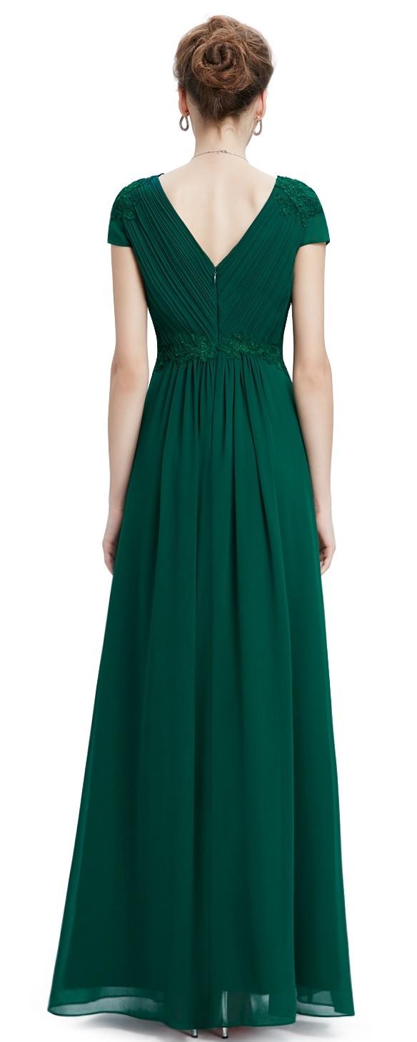 ... zelené Ever-Pretty plesové šaty Smaragdové Snění 26f397312bb