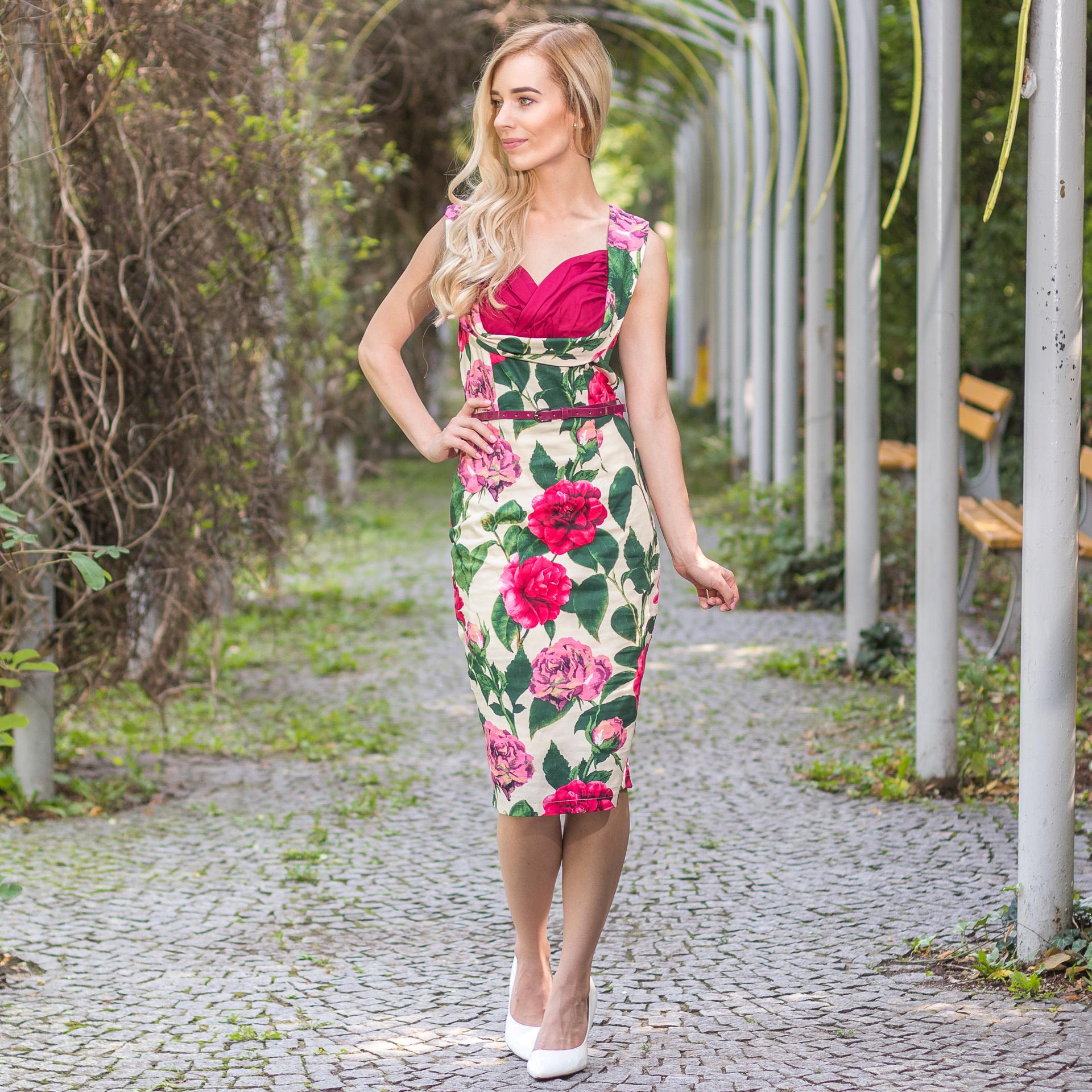 72a9731d3628 ... farebné Puzdrové šaty Vanessa