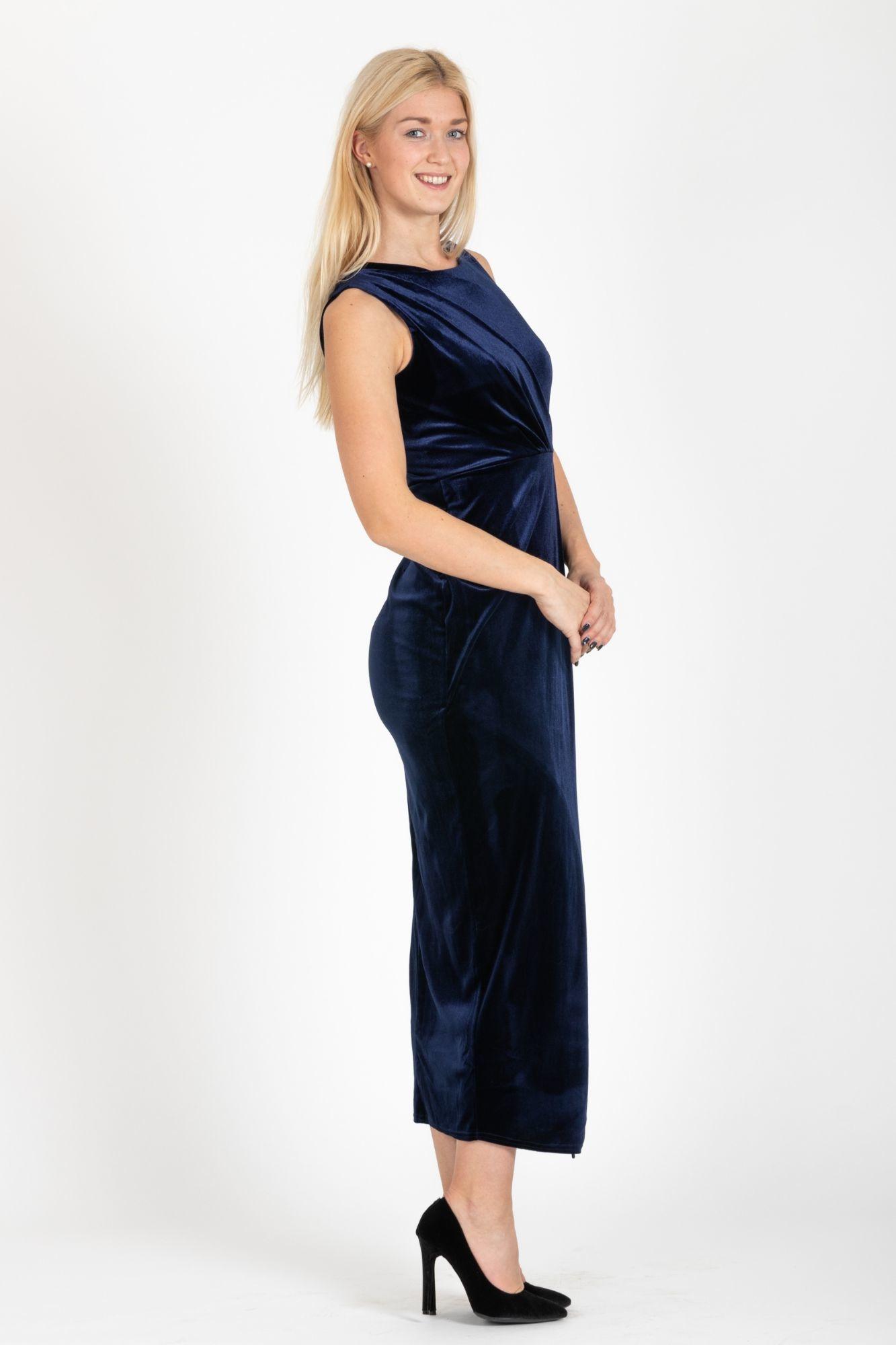 ... modré Spoločenské šaty Anastázia b6da24bdc90