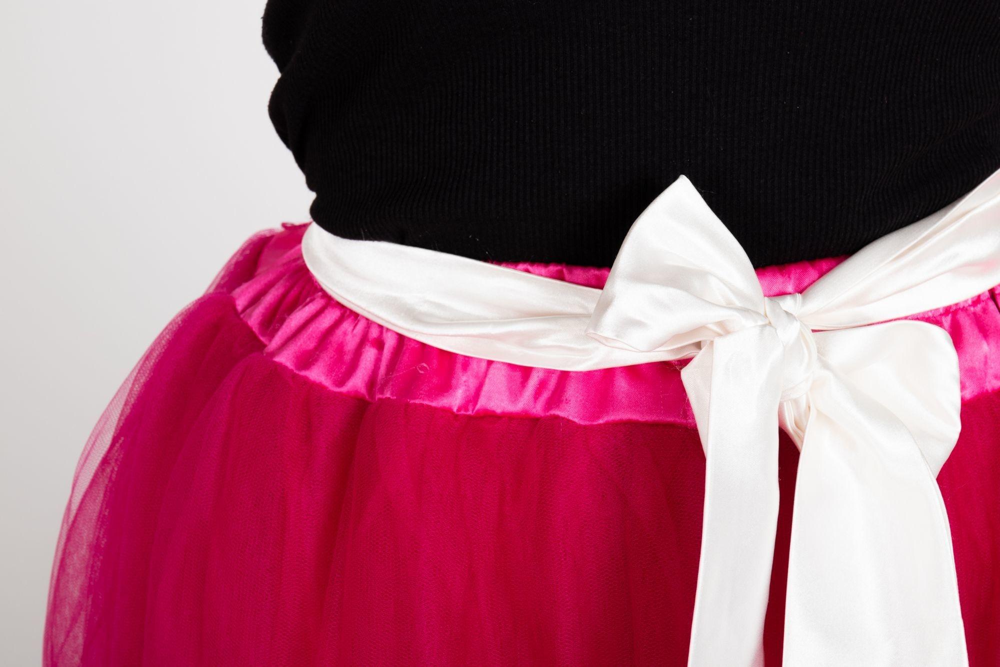 809e7bba7b6f ... Romantická dlhá TUTU sukňa