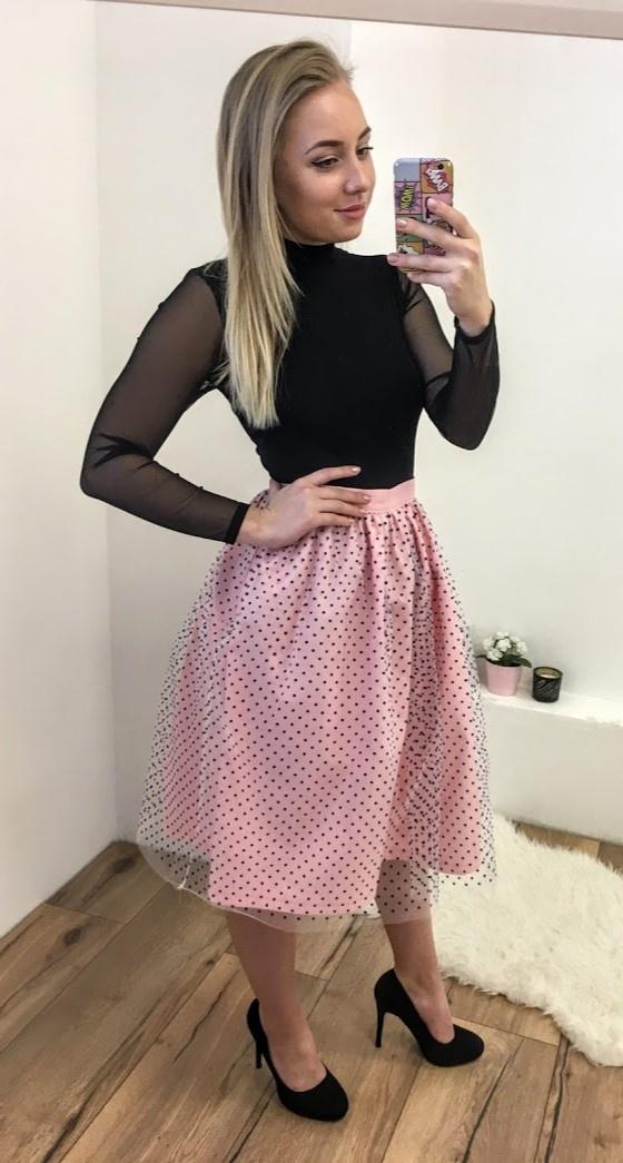 ec3d9ef5369b Tylová TUTU sukňa Romantická láska