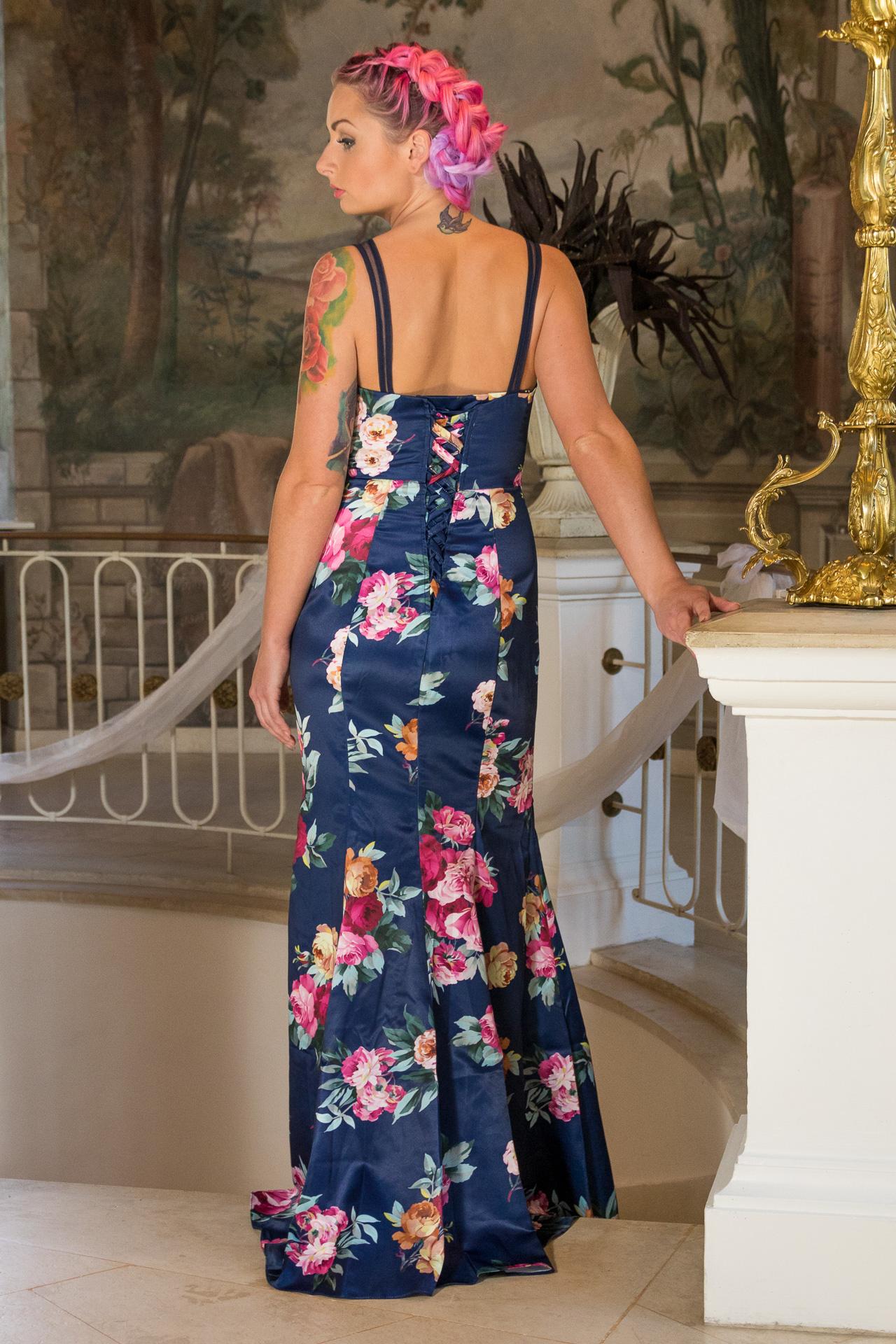 ... modré Ever-Pretty plesové šaty Anastázia 51b8a2cf62a