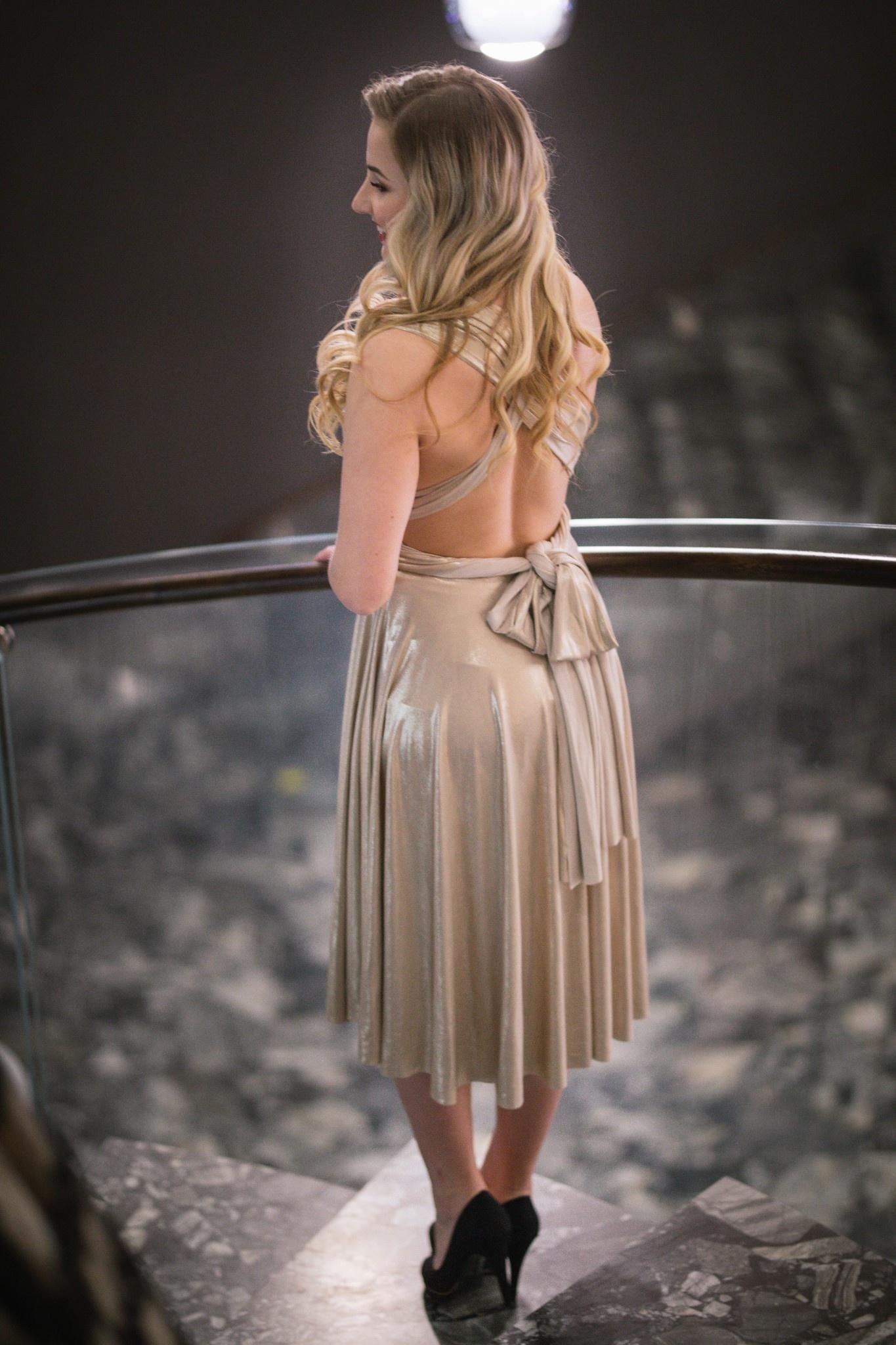 ... zlaté Spoločenské šaty Gold Sonet 41167706131