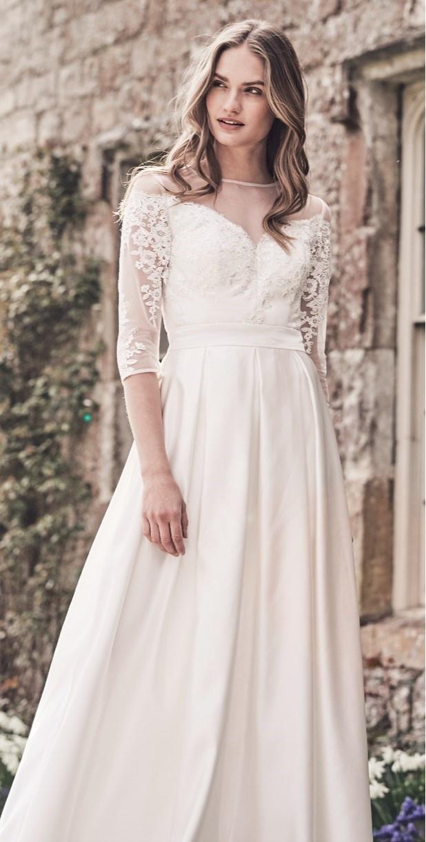 803e814b0364 ... biele Chi Chi London exkluzívne svadobné šaty Pollyanna