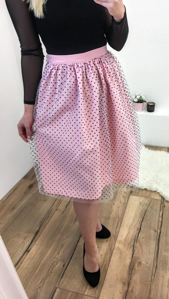 fd5ac72b3500 ... ružová Tylová TUTU sukňa Romantická láska