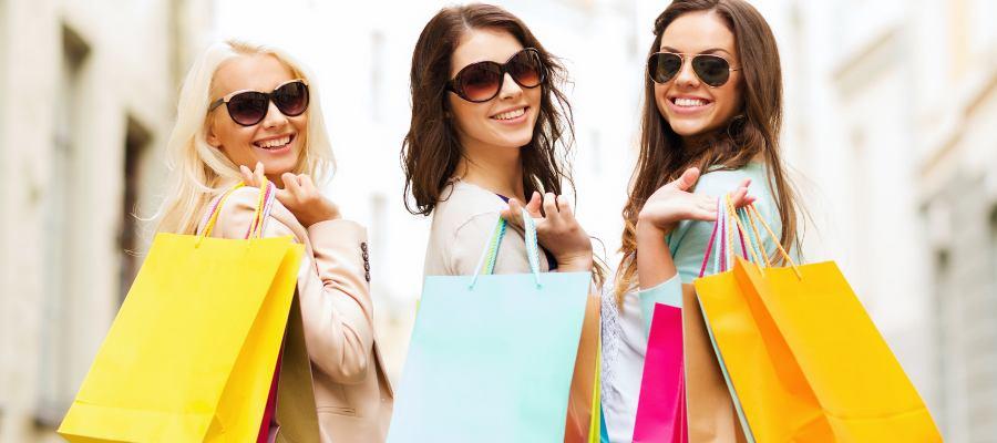 5 měst, ve kterých ženy nejraději nakupují