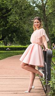 Šaty Flamingo, ružové