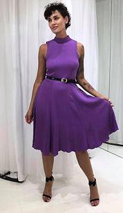 Šaty Šmrnc, fialové