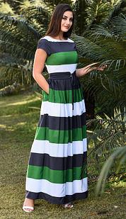 Šaty Stria z V.I.P. kolekcie eShakti