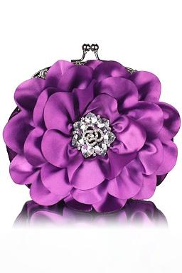 Listová kabelka Petunia, fialová