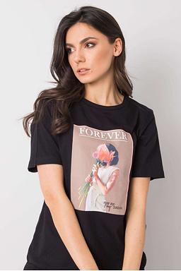 Tričko Forever, černé