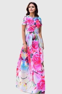b09696d7e34c Exkluzívne spoločenské šaty Coloreta