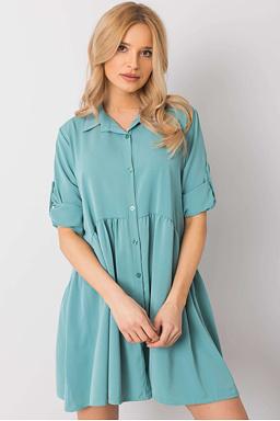 Tunikové šaty Leonie, mintové