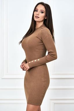 Šaty Sorna, béžové