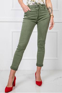 Kalhoty Rozmarýn, zelené