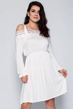 Šaty s rukávom - POSHme.cz 46661ef7376