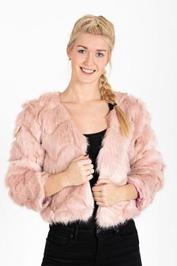 Kabátik Soliana, ružový