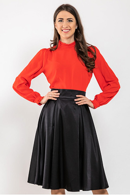 Midi sukňa Missi, čierna