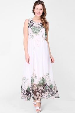 4c9eb21301fb Maxi šaty Lesná žienka