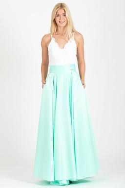 a43bf40aa Maxi sukňa Sissi, mintová