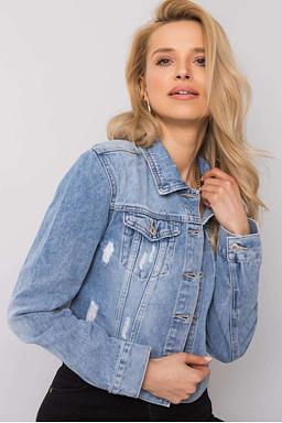 Džínová bunda Layla, modrá