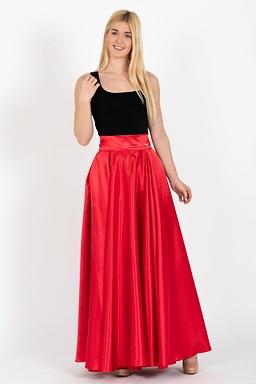 ac21f669e Maxi sukňa Sissi, červená