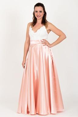 4887c0d2b Maxi sukňa Sissi, ružové zlato