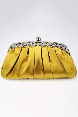 Listová kabelka Cypress, zlatá
