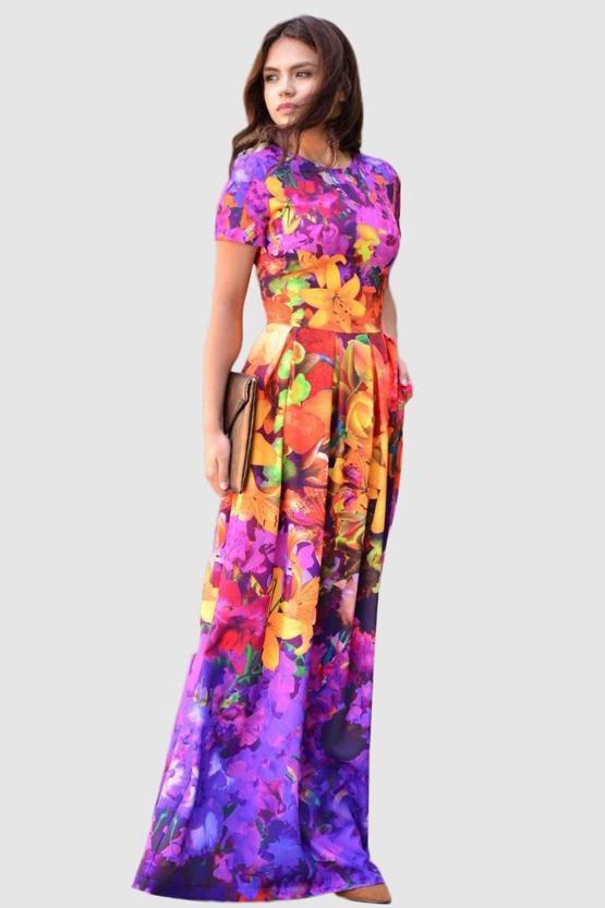 Exkluzívne spoločenské šaty Maracuja - POSHme.cz 94970864c7b
