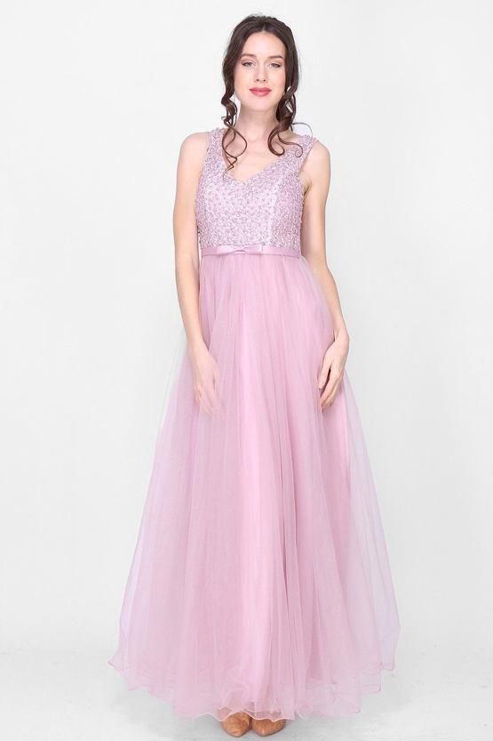 fde0dafd8a Plesové šaty Perlička
