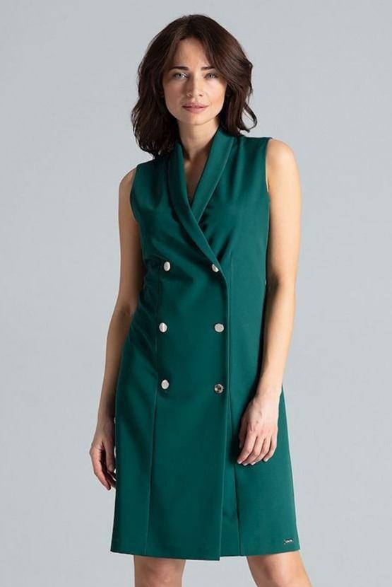 Šaty Profesionálka, zelené
