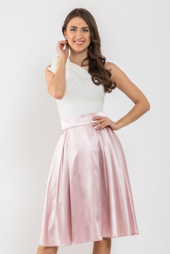 Midi sukňa Missi, ružová