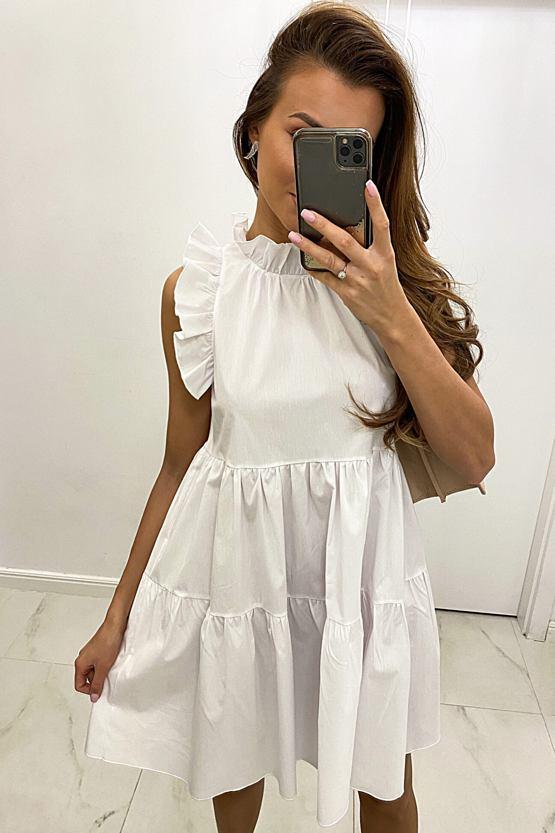 Šaty Bali, bílé