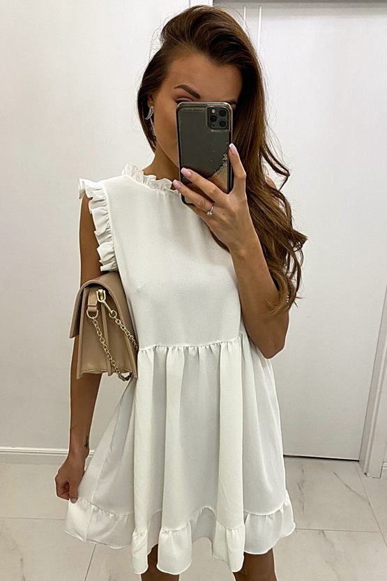 Šaty San Diego, bílé
