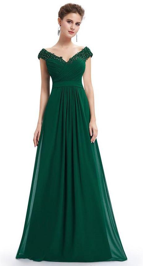 Ever-Pretty plesové šaty Smaragdová lady ac271b426e2