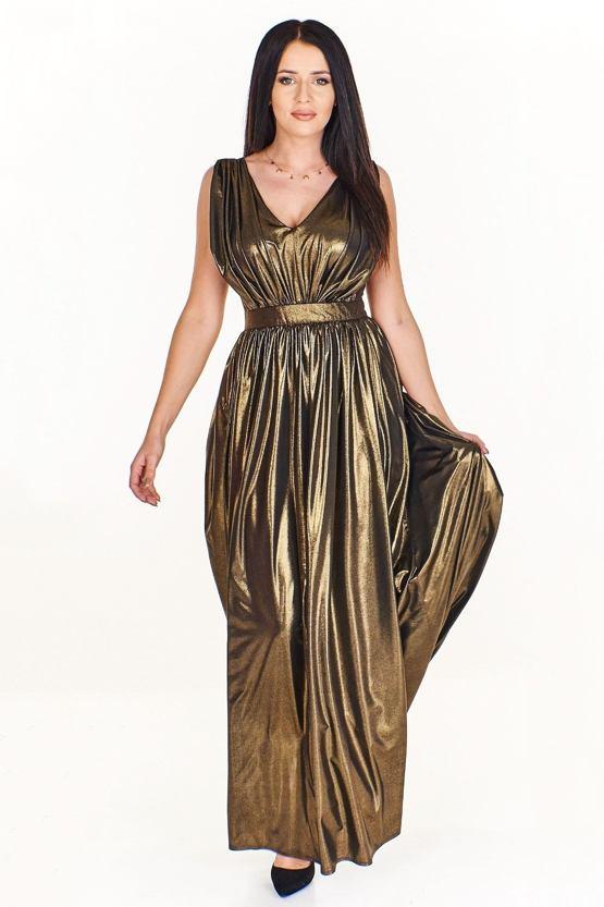 Spoločenské šaty Muškát, olivové