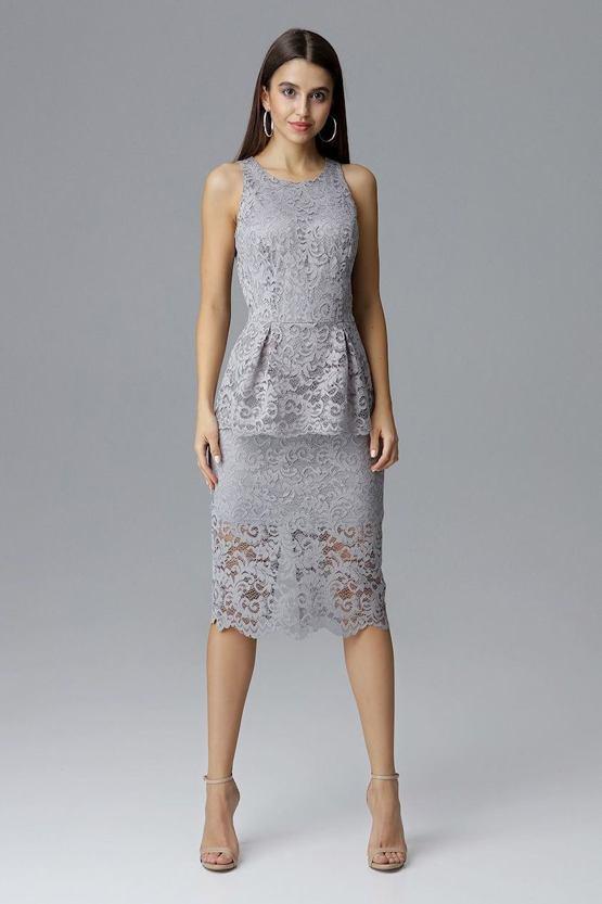 142eea200030 Čipkované šaty Mlhobranie