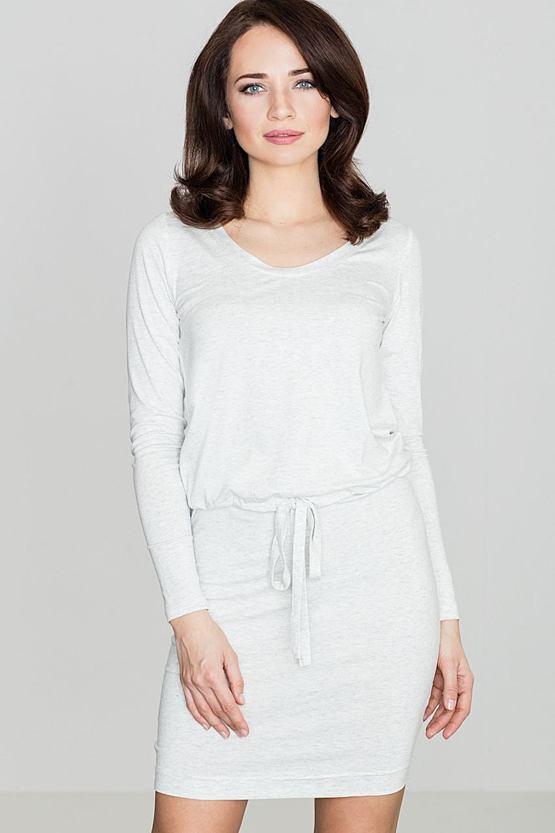 Šaty Smer, sivé