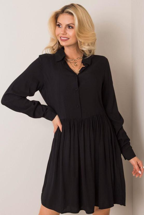 Šaty Listopadky, černé