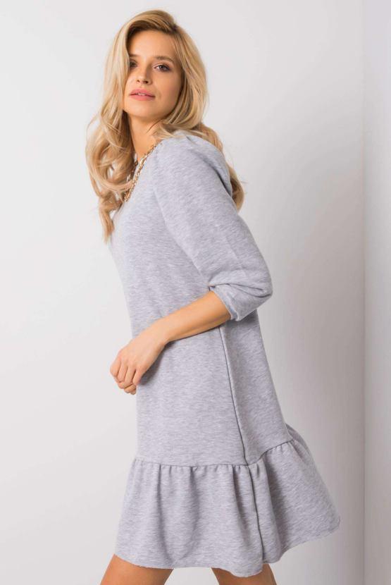 Šaty Inkognito, šedé