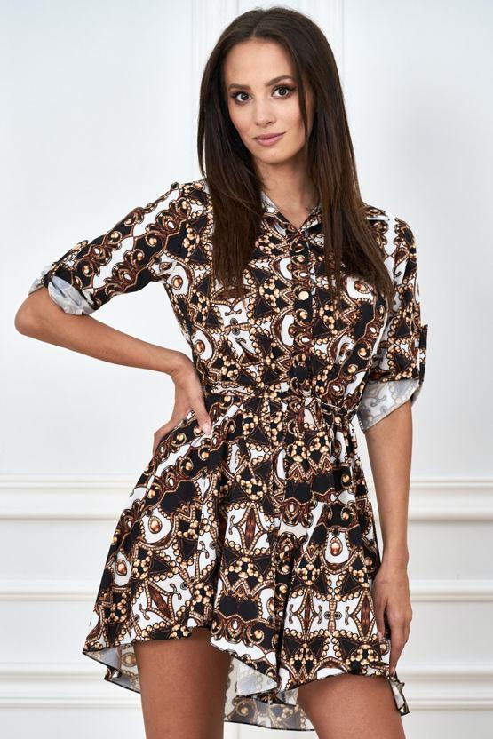 Košeľové šaty Kaleidoskop, farebné