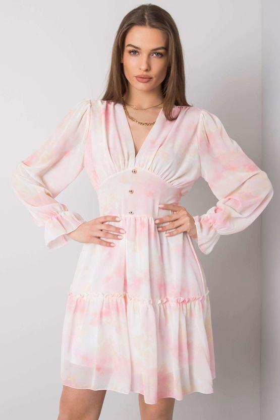 Šaty Červánková víla, růžové
