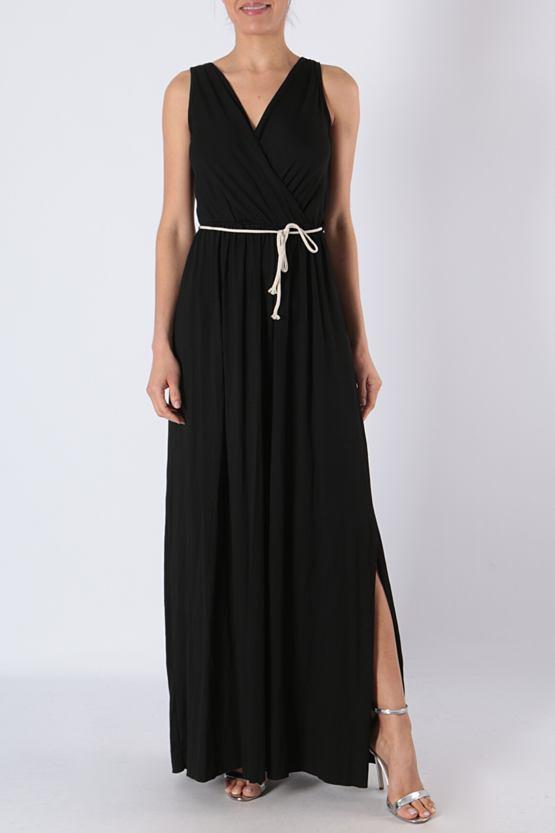 Maxi šaty Mauricius, černé