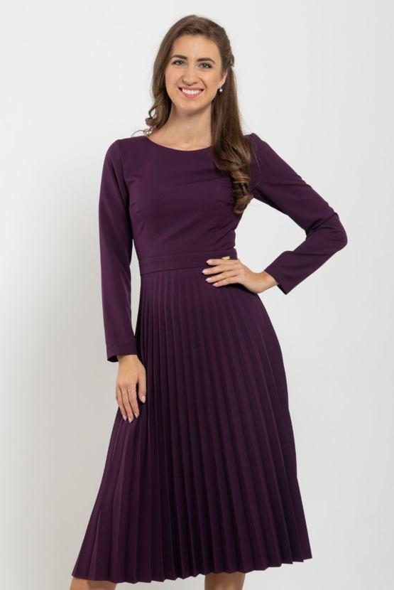Šaty Dobré spôsoby, fialové