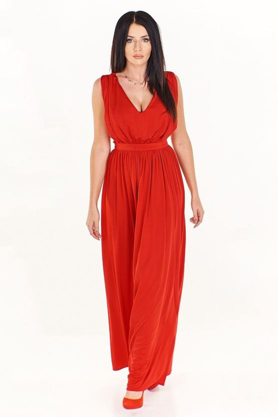 Spoločenské šaty Delikatesa, červené