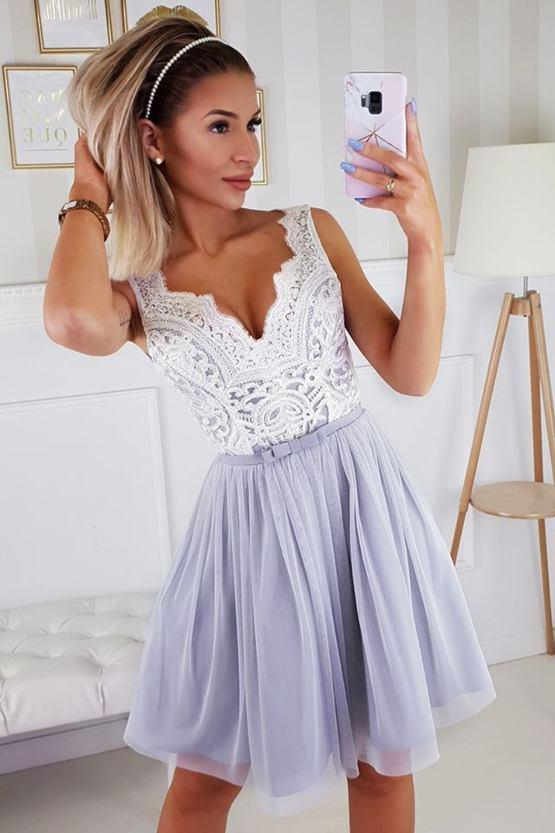 Šaty Fintilka, šedé