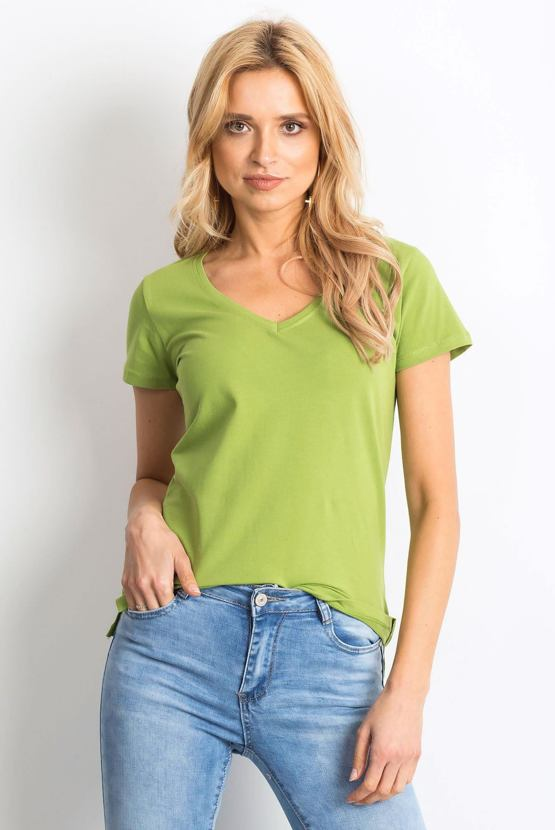 Tričko Temperka, hráškově zelené