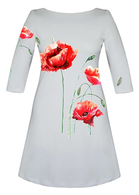 da3ebe557b5a Šaty Red Poppies